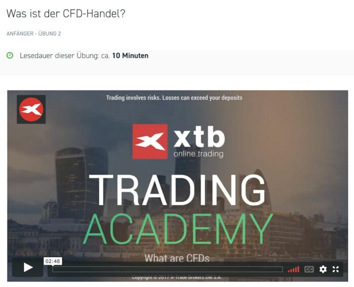 XTB Trading Academy Videos