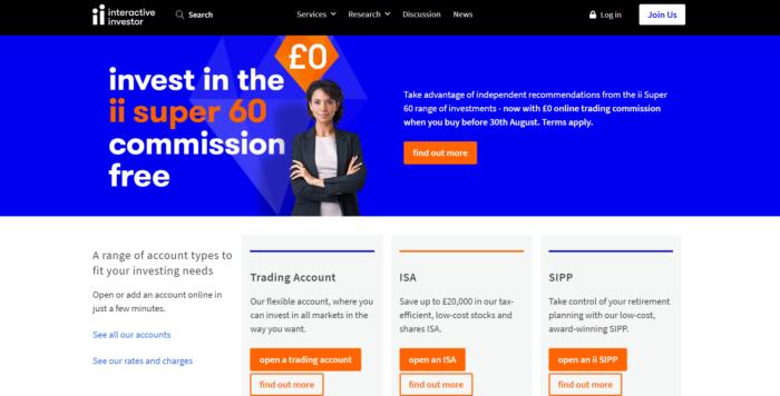 interactive investors review