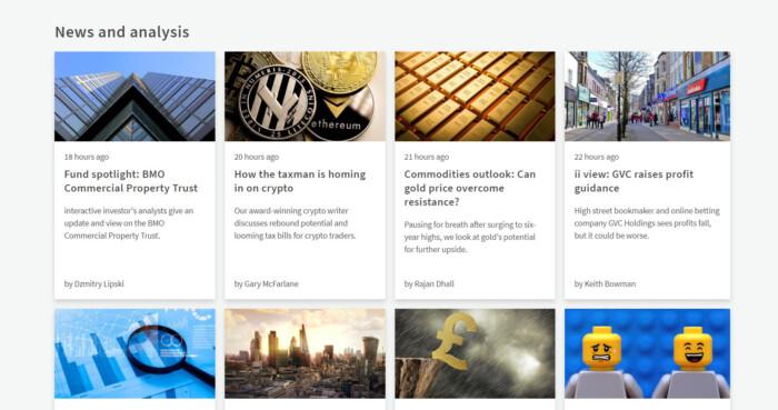 interactive investors News