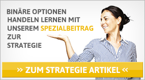 Binäre Optionen Strategie