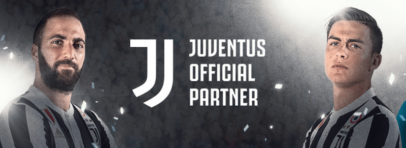 24option Juventus Turin Sponsoring