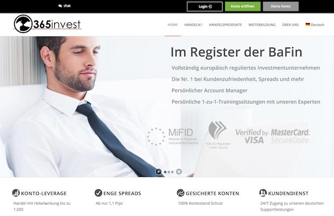 365invest Erfahrungen von Depotvergleich.com