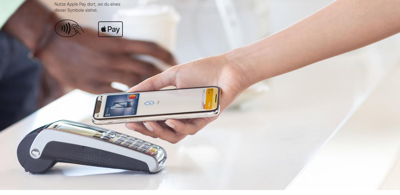 Mit Apple Pay können Sie einfach und schnell bezahlen