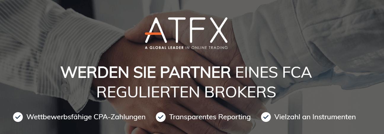 Handeln Sie als Partner eines FCA regulierten Brokers