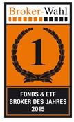 Für ihr Angebot an Fonds und ETFs wurde die DAB Bank sogar ausgezeichnet.