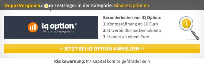 Binäre Optionen Glücksspiel?