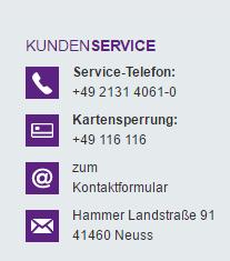 Bank11direktBank11direkt Kundenservice
