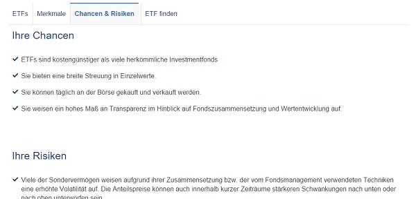 Fonds und ETFs sind wichtige Bausteine im Angebot von 1822direkt.