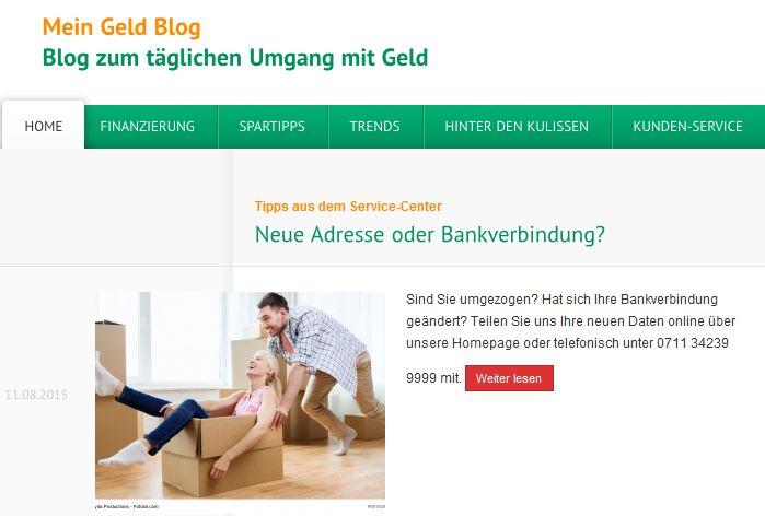 MeinGeld Blog von der CreditPlus Bank