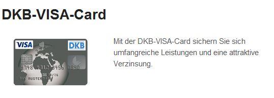Die DKB-Visa-Card