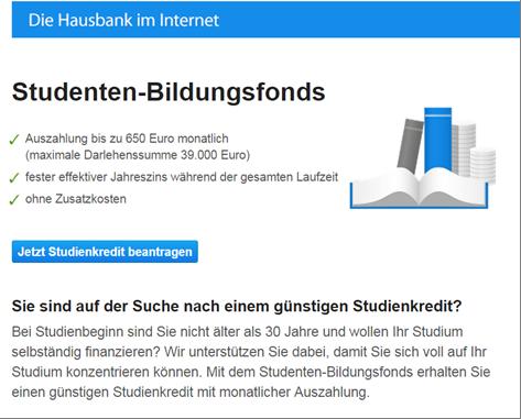 Das Studenten-Angebot der DKB