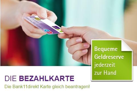 Bank11direkt Tagesgeld Erfahrungen