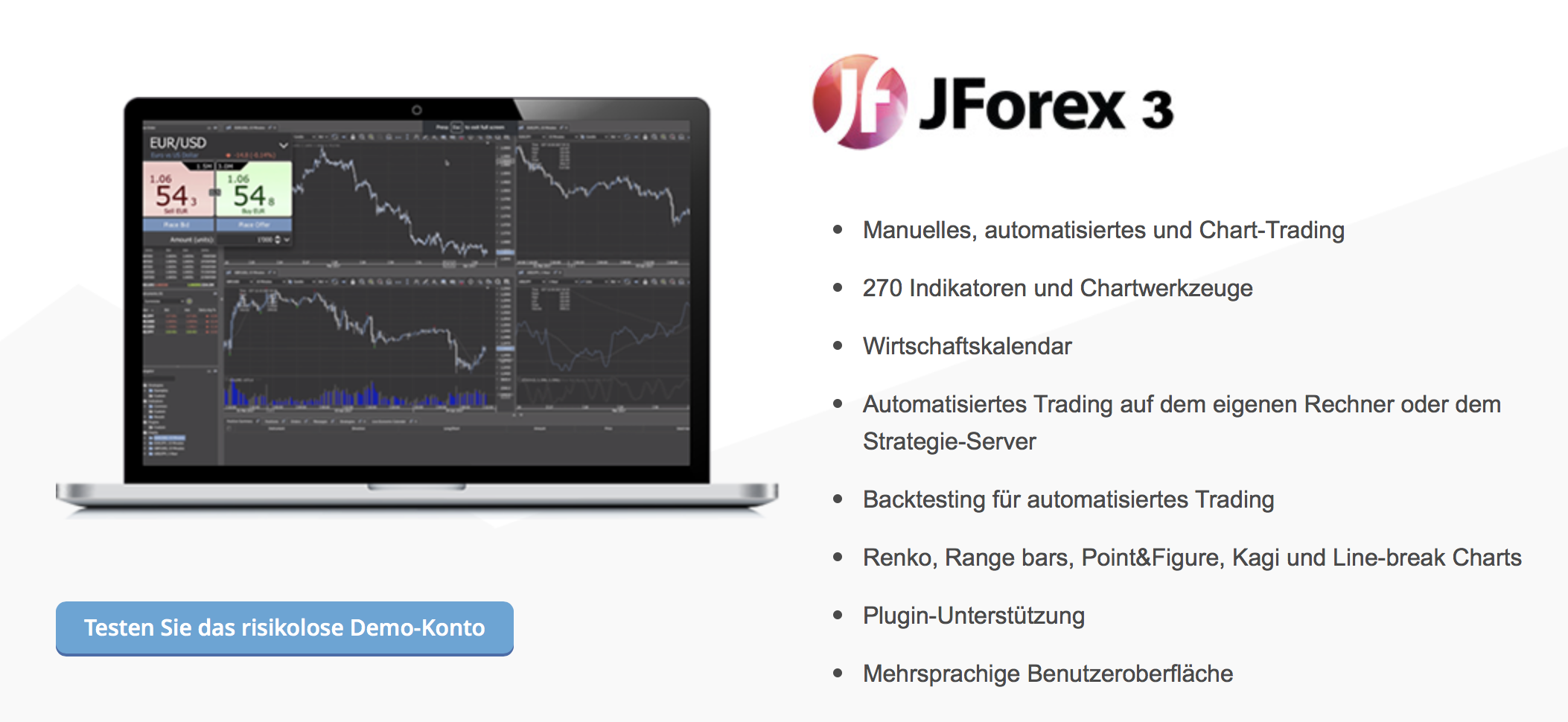 JForex Forex Brokers This directory enables you to choose your preferred Forex Brokers with the JForex Platform. Use the filters below in order to get a more specific list which is suitable for.
