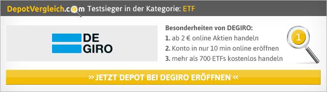 ETF Vergleich von Depotvergleich.com