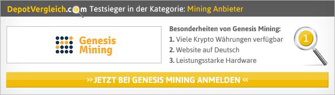 Mining-Plattformen im Vergleich von Depotvergleich.com