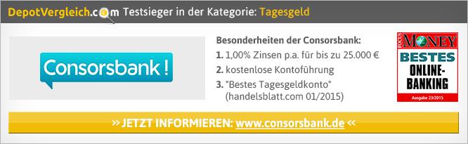 Der Tagesgeld Vergleich von depotvergleich.com