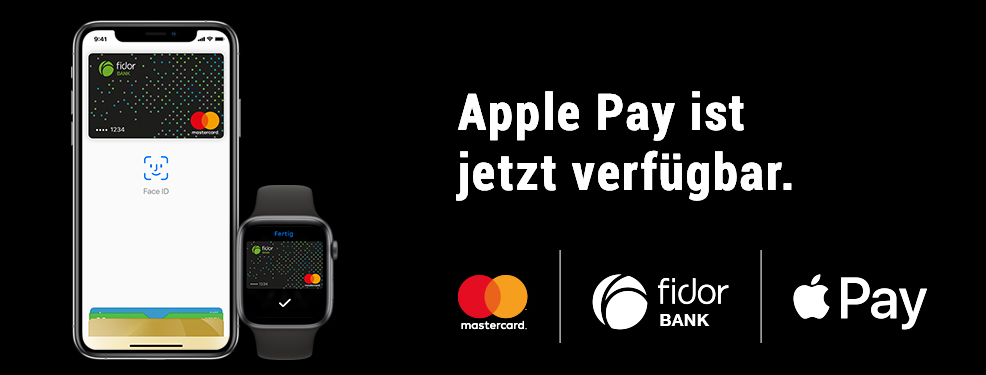 Fidor bank Apple Pay