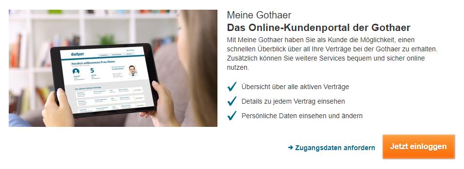 Gothaer Haftpflichtversicherung Online