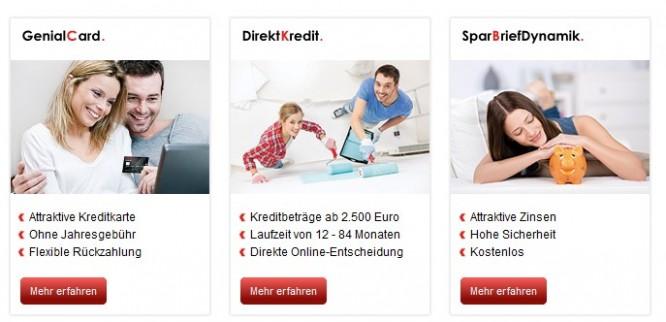 Die Hanseatic Bank Angebote in der Übersicht