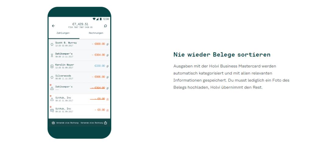 Holvi Banking App