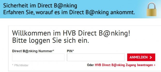 HypoVereinsbank Kreditkarte Test