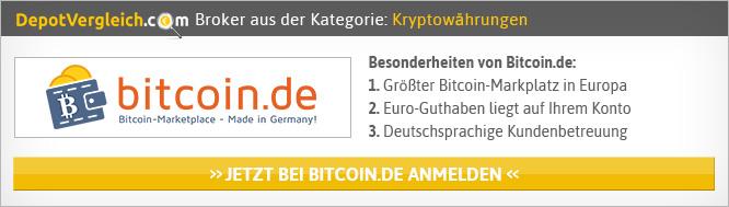 Kryptobörsen Vergleich von Depotvergleich.com