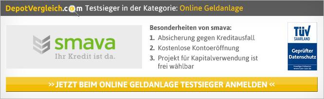 Online Geldanlage Vergleich auf Depotvergleich.com