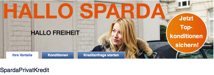 Der SpardaPrivatKredit ab 2.500€ hat Top-Konditionen ( Sparda-Bank Konditionen)
