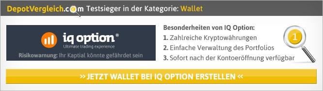Krypto Wallet Vergleich von Depotvergleich.com
