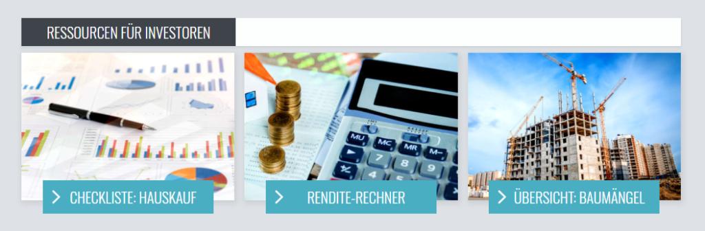 Zinsland Rendite