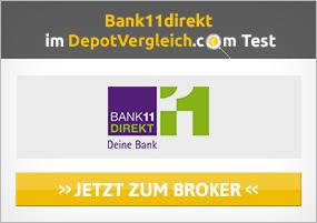 Bank11direkt Karte im Test