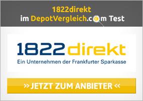 1822direkt Depot Prämie