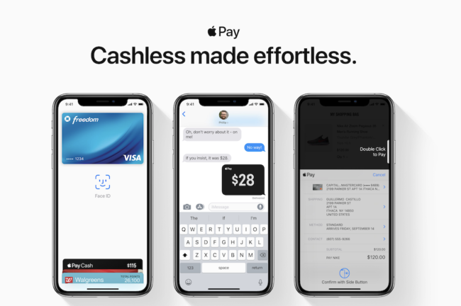 Apple Pay Bezahldienst