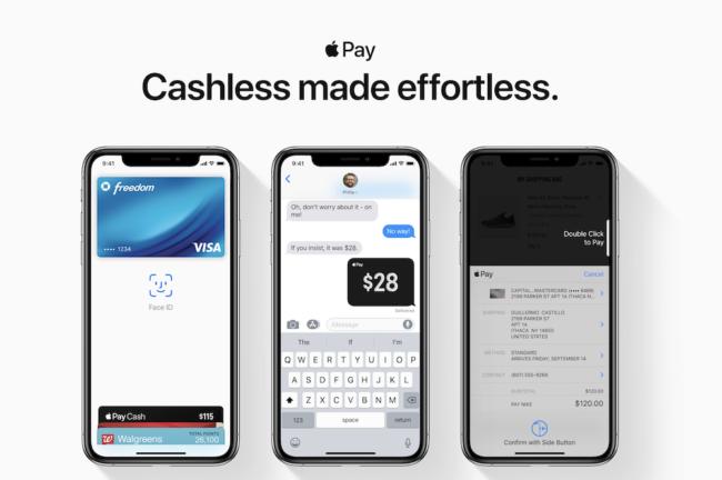 Apple Pay Bezahldienst