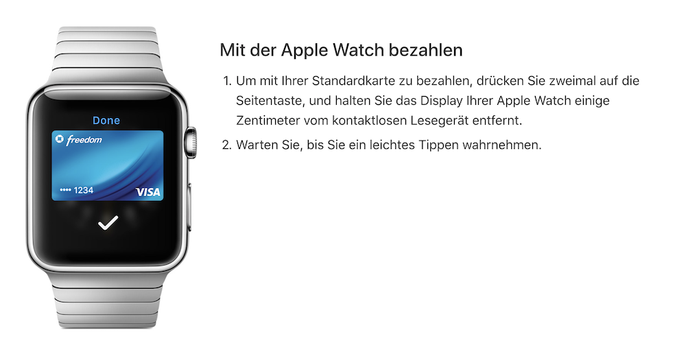 Apple Pay Smartwatch