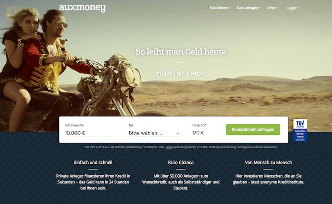 auxmoney Kredit Erfahrungen von depotvergleich.com