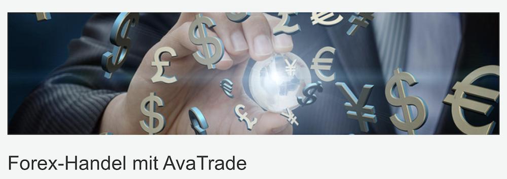 AvaTrade Forex-Handel App