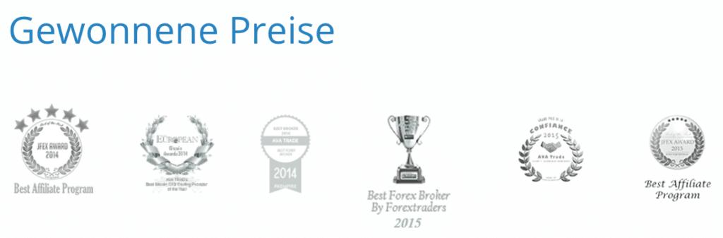 AvaTrade Auszeichnungen