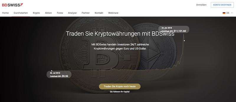 BDSwiss Krypto Erfahrungen von Depotvergleich.com