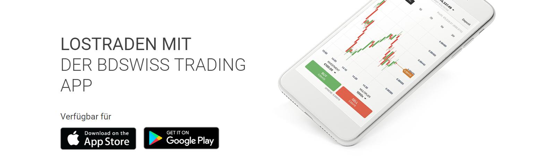 Trading mit der BDSwiss Trading App
