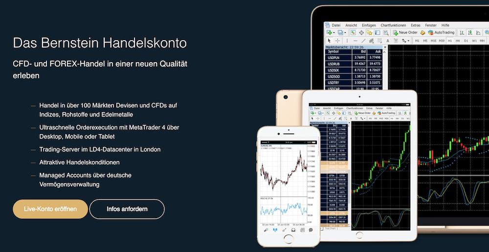 Bernstein Bank Handelsplattform