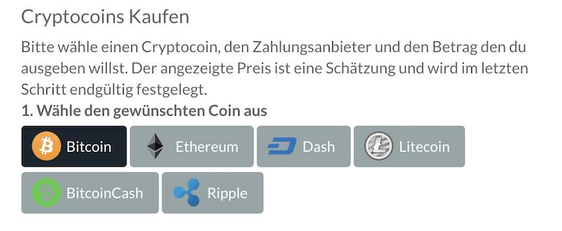 BitPanda Kryptowährungen kaufen und verkaufen