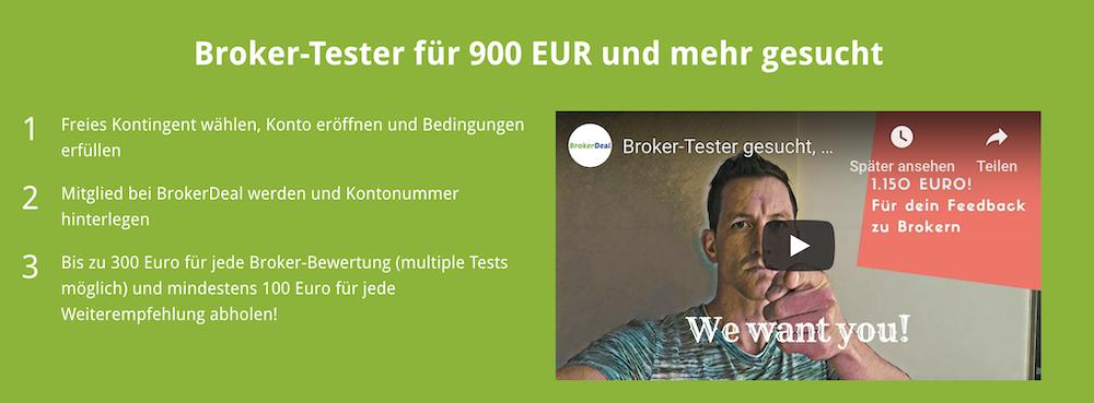 BrokerDeal Broker Tester
