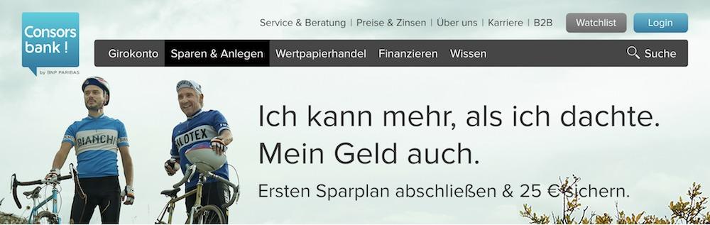 Consorsbank ETF-Sparplan