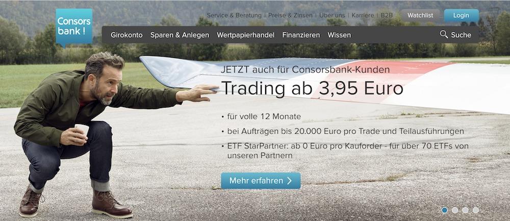 Trading bei der Consorsbank lohnt sich Neulinge ein ganzes Jahr lang doppelt