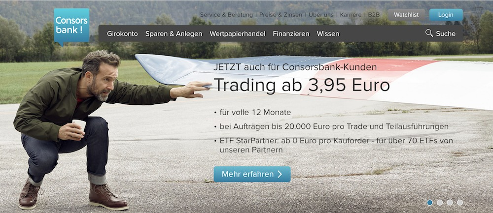 ConsorsbankWebseite