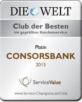 Ausgezeichnetes Angebot der Consorsbank