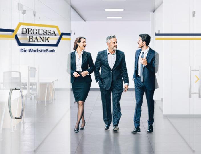 Degussa Bank. Die WorksiteBank