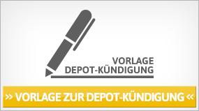 Depot kündigen - Muster & Vorlage