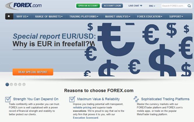 Diese Gründe sprechen für Forex.com